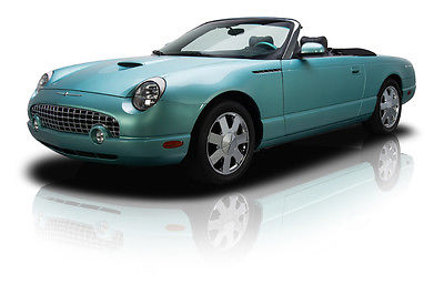 Ford : Thunderbird Base Convertible 2-Door 17 361 actual mile one owner thunderbird roadster 3.9 l dohc v 8 5 speed hard top