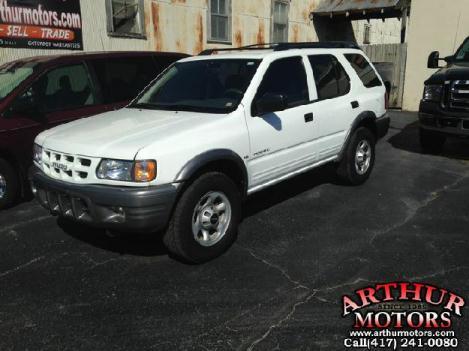 2001 Isuzu Rodeo S - Arthur Motors, Marshfield Missouri