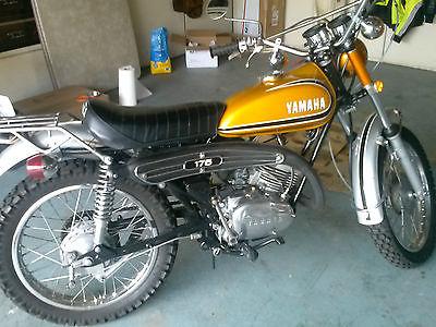 Yamaha : Other 1973 yamaha 175 enduro runs low miles title original ct 175 ct 3