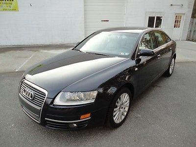 Audi : A6 Base Sedan 4-Door 07 audi a 6 quattro 3.2 loaded quattro all service records extra clean 115 pics