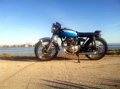 Honda : CB CB350 custom classic cafe racer, Vintage Honda CB
