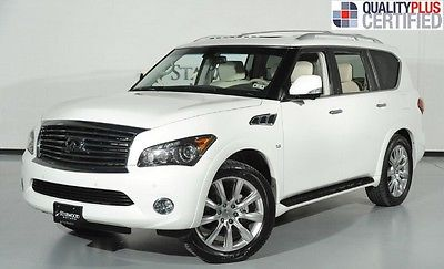 Infiniti : QX56 4WD 7-Passenger 2014 infiniti 4 wd 7 passenger
