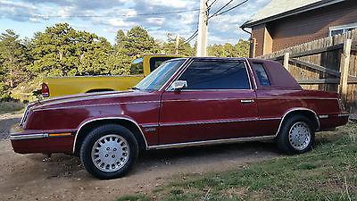 1989 Chrysler Lebaron Cars For Sale