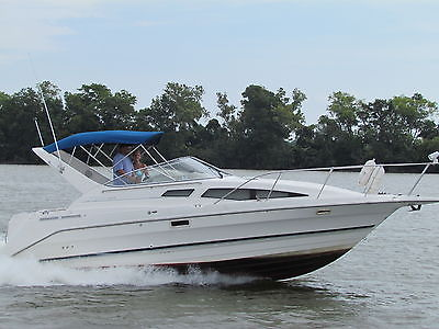 1998 Bayliner 2855 Ciera Cabin Cruiser Boat - with New Bravo 3 outdrive