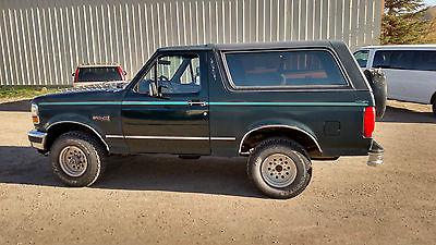 Ford : Bronco XLT 1993 ford bronco xlt suv