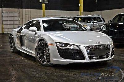 Audi : R8 V10 2010 audi r 8 v 10 cpe auto quattro 5.2 l v 10 carbon fiber full leather nice
