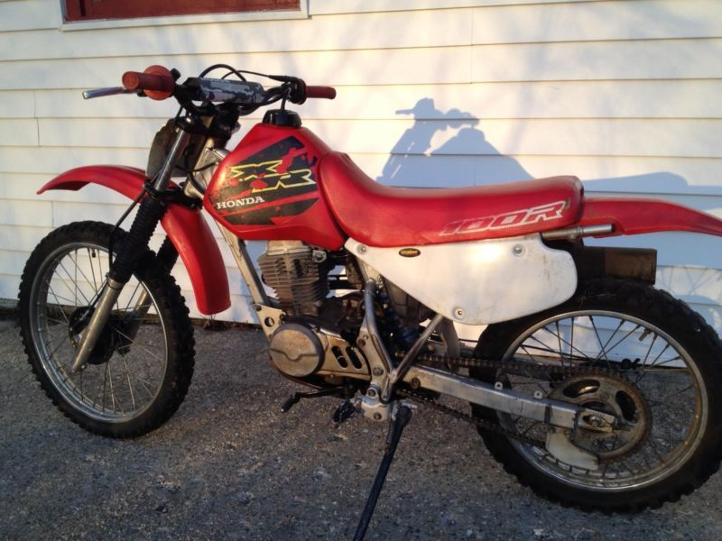 2003 honda xr100 dirt bike