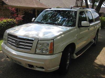 Cadillac : Escalade ESV 2004 cadillac escalade esv awd loaded