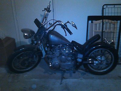 Custom Built Motorcycles : Bobber custom yamaha 750 chopper bobber
