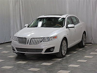 Lincoln : MKS 4dr Sedan 3.7L AWD 2010 linocln mks awd 74 k navigation cam dual sunroof heated cooled seats loaded