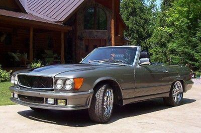Mercedes-Benz : 300-Series 380SL MERCEDES 380 SL CUSTOM