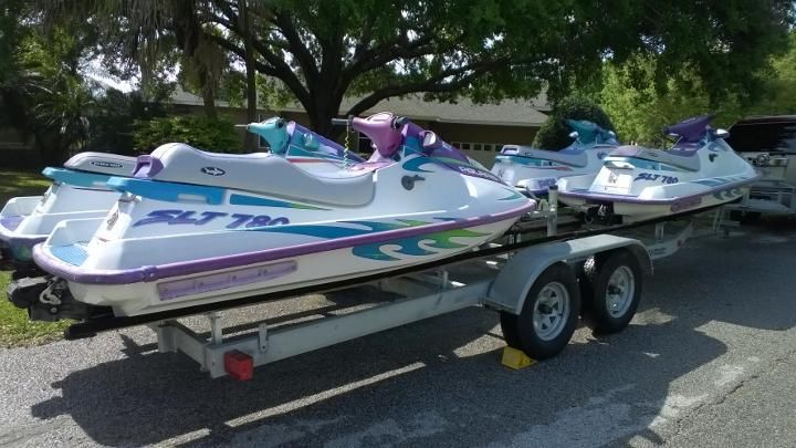 ALL FOUR Jet Skis WaveRunners PWCs  $5,000