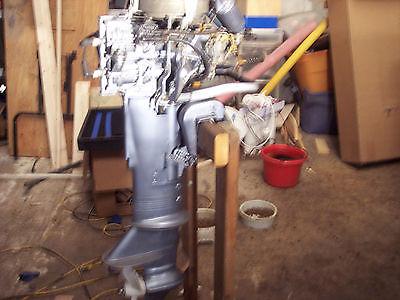 VINTAGE 15 hp 1955 Evinrude super fast twin long shaft