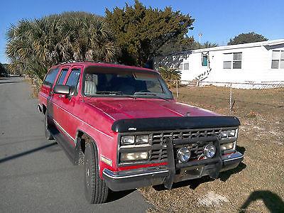 Chevrolet : Suburban Silverado Sport Utility 4-Door 1990 diesel gmc chevrolet r 2500 suburban silverado sport utility 4 door 6.2 l