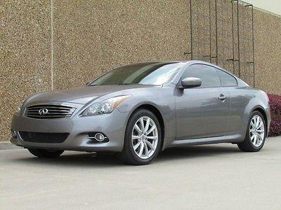 Infiniti : G G37 Coupe Journey Premium G37 Coupe Journey Premium! One Owner! Heated! Warranty! Below KBB! We Finance!