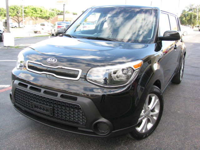 Kia : Soul 2015 kia soul black on black plus edition