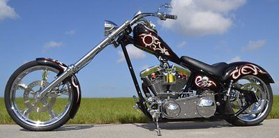 Custom Built Motorcycles : Chopper chad chambers custom built chopper motorcycle 2005