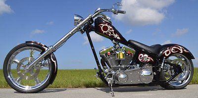 Custom Built Motorcycles : Chopper chad chambers custom built chopper motorcycle 2005