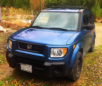 Honda : Element 2006 honda element very mechanically strong now near nelson b c