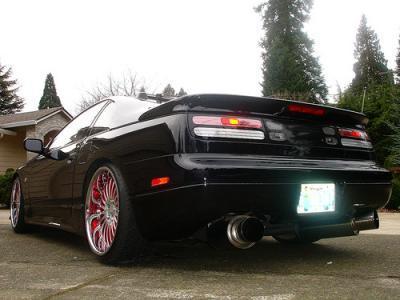 Nissan 300zx black