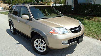 Acura : MDX Touring Sport Utility 4-Door 2001 acura mdx touring sport utility sunroof bose 3 rd row cd awd