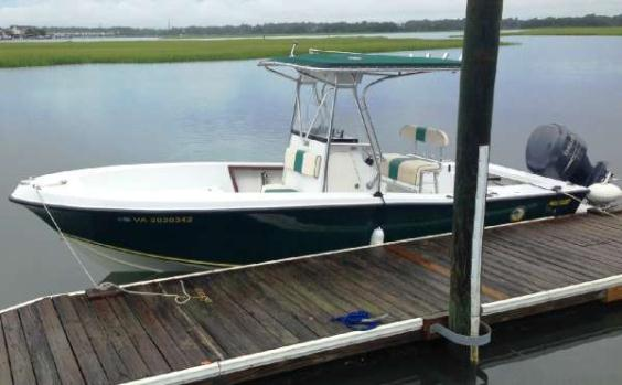 1988  Mako Boats  231 Center Console