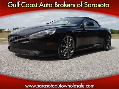 Aston Martin : Other CONVERTIBLE! ONLY 5K MILES! MINT! 2012 aston martin convertible only 5 k miles mint