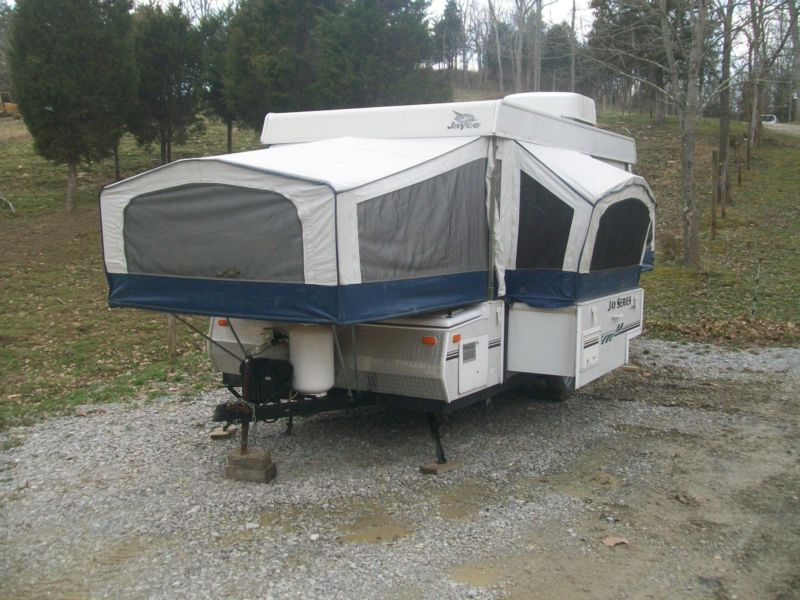 2007 Jayco Jay Series 1206 Pop Up Tent Trailer Camper W Slide Out