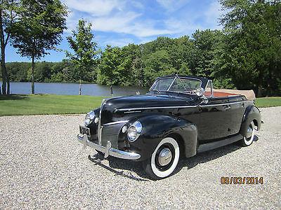 Mercury eight cars for sale for 1940 mercury 4 door convertible