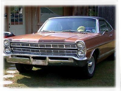Ford : Galaxie Galaxie 500 1967 ford galaxie 500 xl 6.4 l, 1