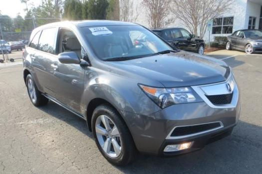 2012 Acura MDX 3.7L Technology Package Charlotte, NC
