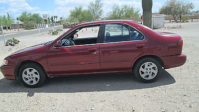 Nissan : Sentra GXE 1999 nissan sentra limited edition gxe 1.6 ltr 4 cyl dohc runs great looks great