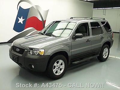 Ford : Escape 2007   XLT CD AUDIO SIDE STEPS ROOF RACK 76K 2007 ford escape xlt cd audio side steps roof rack 76 k a 43475 texas direct auto