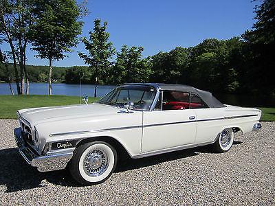 Chrysler : Newport 2 Door 1962 chrysler newport convertible