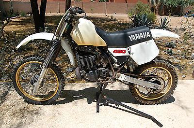 Yamaha : YZ 1984 yamaha yz 490 yz 490 drum brakes ahrma avdra husky motocross mx air cooled