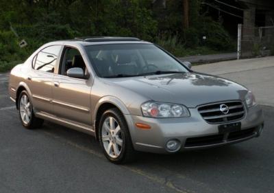 2002 Nissan Maxima GLE serviced