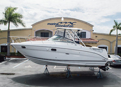 Very clean 290 Amberjack, always kept out of the water,well kept! ONE OWNER BOAT
