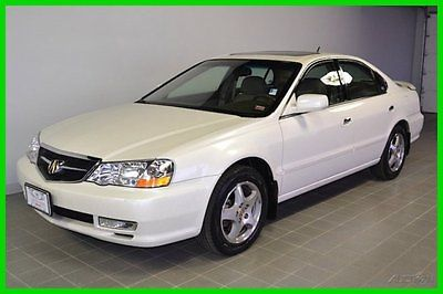 Acura : TL W/Navigation System w/Navigation System Used 3.2L V6 24V Automatic FWD Sedan Premium Leather