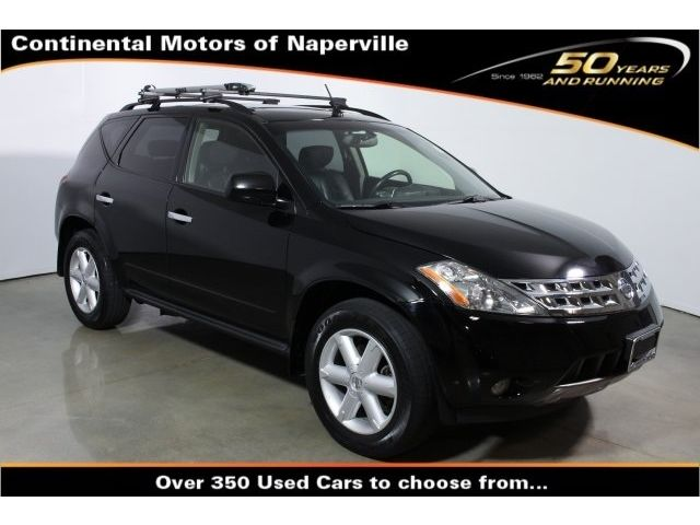 Nissan : Murano SUV 3.5L Sunroof CD Premium Package SE Touring Package Sunroof Package Compass