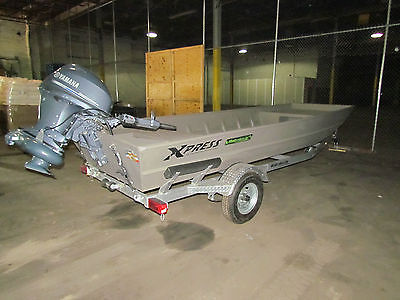 2014 Xpress 1650D BRAND NEW!!! 2014 JET YAMAHA 40 H.P MOTOR AND 2014 TRAILER