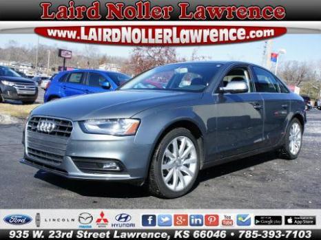 2013 Audi A4 2.0T Premium Lawrence, KS