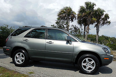 Lexus : RX 300 CARFAX CERTIFIED FLORIDA 1 OWNER!!!  IMMACULATE RX300 FWD SUNROOF CD MICHELINS NAPLES CREAMPUFF RARE COLOR 01 02 03