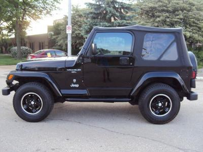 2001 Jeep Wrangler Inspected