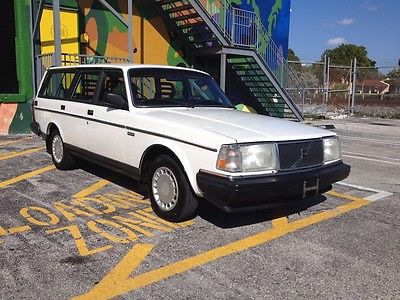 Volvo : 240 DL 1990 volvo 240 station wagon