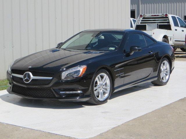 Mercedes-Benz : SL-Class Roadster 13 mercedes benz sl 550 twin turbo 7 speed hk cooled heated nav camera 49 k tx