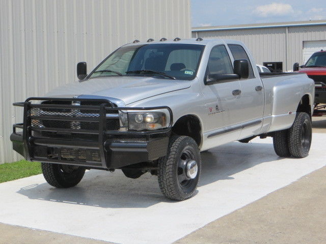 Dodge : Ram 3500 Diesel 4x4 04 ram 3500 slt 5.9 cummin h o 4 x 4 new tires front end exhaust intake carfax