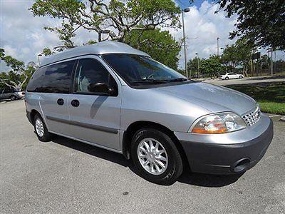 Ford : Windstar LX Hi Top / Wheelchair Conversion 2001 ford windstar lx hi top conversion with braun wheelchair lift