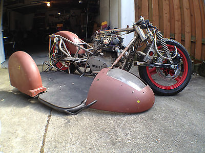Custom Built Motorcycles : Other Custom Built Vintage Inspired 1980 Yamaha XS650 Road Racing Sidecar