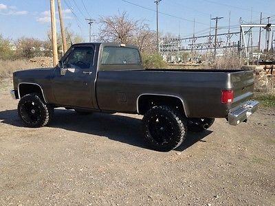 Chevrolet : C/K Pickup 1500 k10 K10 4x4