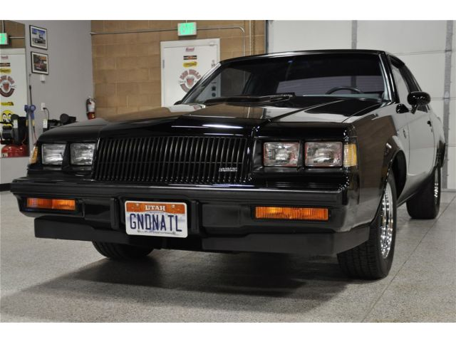 Buick : Regal 2dr Coupe 1987 buick grand national only 23 k original miles mint condition throughout
